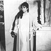 ELIZABETH TAYLOR ON SET  CLEOPATRA   COSTUME  TEST ITALY  1962