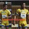BJORN BARREFORS OLYMPIC SWEDEN BEEFCAKE HUNK BULGE DOUBLE IMAGE PHOTOGRAPH