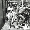 ELIZABETH TAYLOR CLEOPATRA HER BODY EXPOSED CANDID PHOTOGRAPH 1962