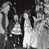 BILLIE BURKE WIZARD OF OZ GLINDA WITH MUNCHKINS PHOTOGRAPH 1939