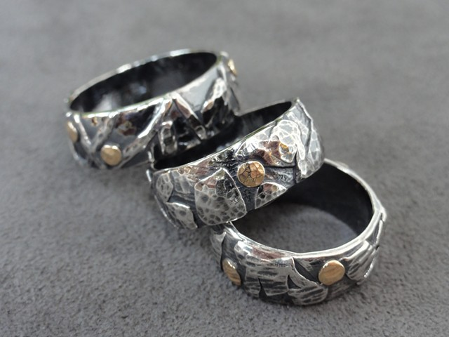 Men's Fused Sterling Silver Rings