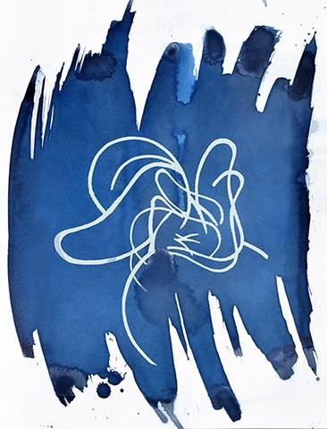 Cyanotype Drawing #3