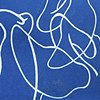 Cyanotype Drawing Untitled #4