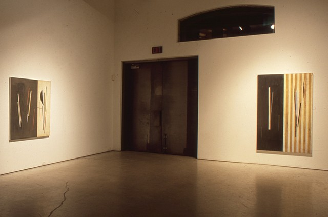 Installation Olga Korper Gallery 1996 Toronto ON