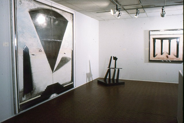 Sculpture and Drawings at Equinox gallery 1985 Greg Murdock
