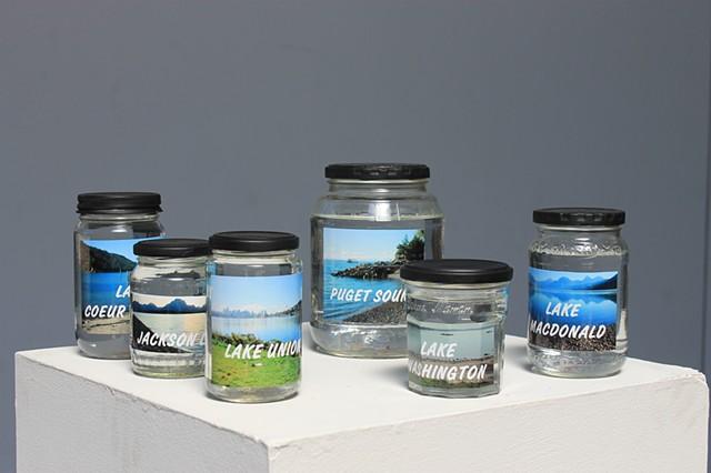 """Water Thief"" Jars"