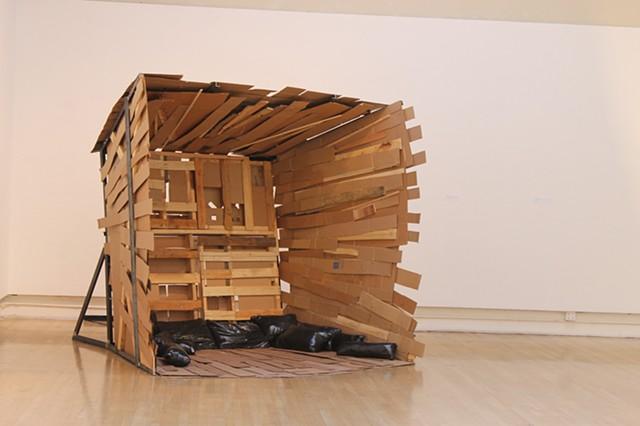Vitruvian Nest, Diego Rivera Gallery, San Francisco Art Institute, kohezhen