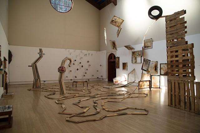 Illinois Street, coaster, Diego Rivera Gallery,