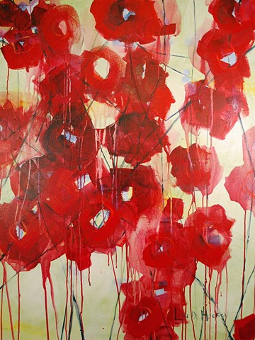 SOLD - Poppies