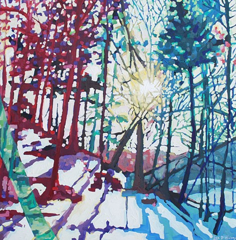 SOLD - Winter Light