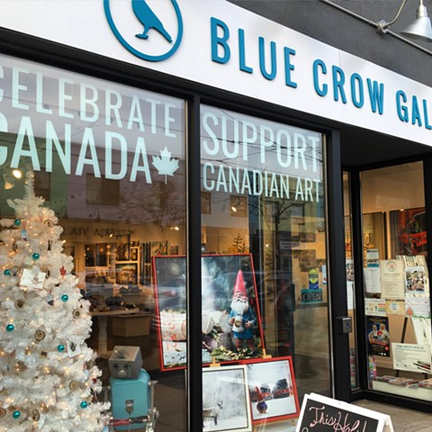 Blue Crow Gallery Holiday Show!
