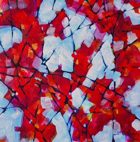Crimson Branches - SOLD