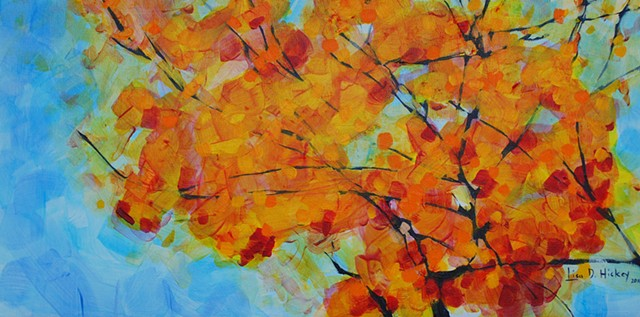 Fall Branches II - SOLD