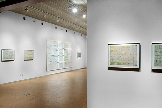 Installation view, Stability Dynamics
