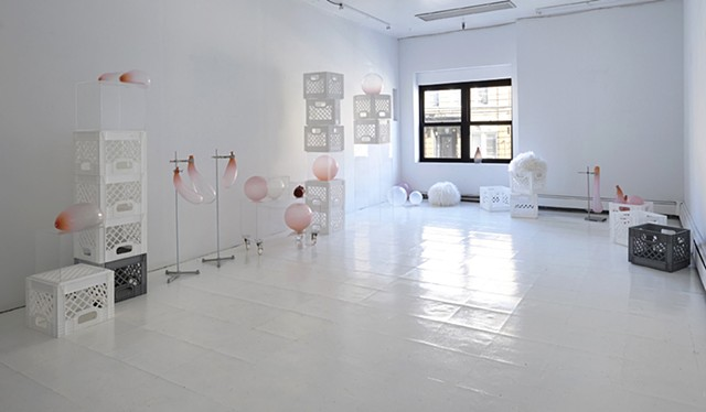 This Time Tomorrow, installation view