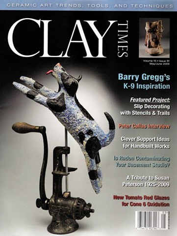 """""""Clay Times"""" Magazine Cover"""