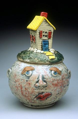 """""""Home"""" Pot Head"""