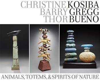 """Animals, Totems and Spirits of Nature Signature Contemporary Craft Gallery Atlanta, Georgis August 10 - August 31, 2013"
