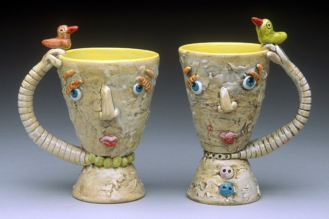 Jughead Cups With Birds
