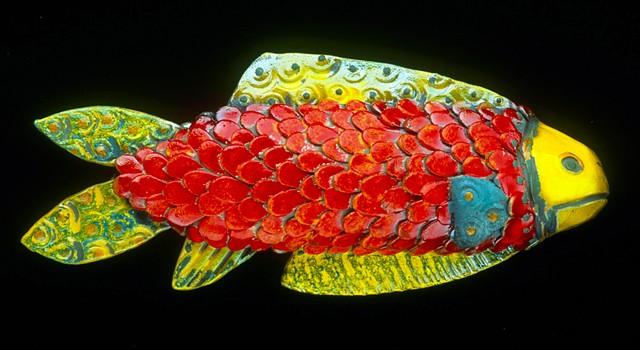 Raku Fish 1