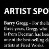 """Macon Magazine"" Artist Spotlight & Image April/May 2011"