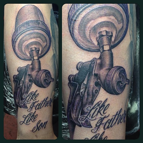 Ron Meyers - Paint Gun Tattoo