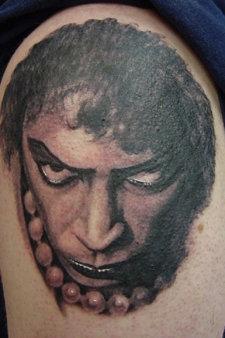 Ron Meyers - Rocky Horror Sleeve Frankenfurter Closeup
