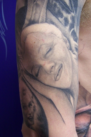 Ron Meyers - Marilyn lower Half of Outer Arm