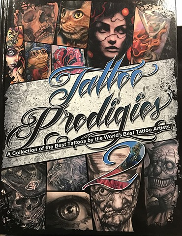 Ron Meyers - Tattoo Prodigies 2 Cover