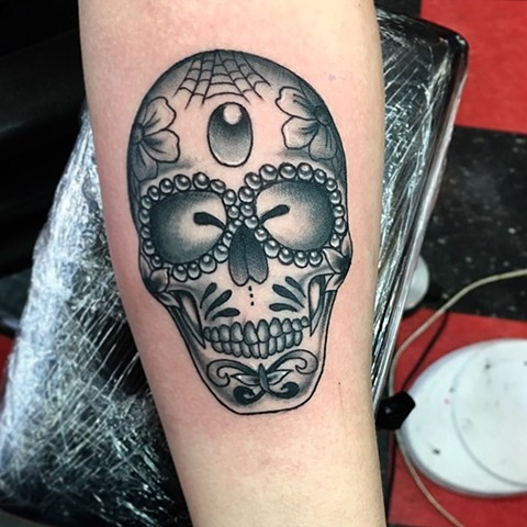 Low Lock Tattoo Studio Mackenzie Meyers Black Grey