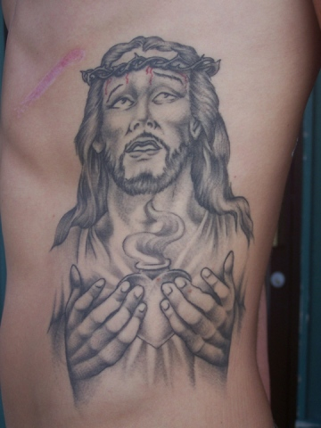 Ron Meyers - Jesus Rib Piece