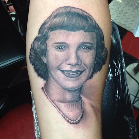 Ron Meyers - Portrait Tattoo on Chris
