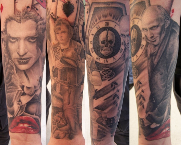 Ron Meyers - Rocky Horror Sleeve Forearm