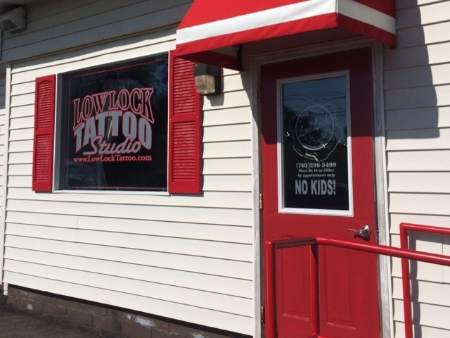 Low Lock Tattoo Studio Store Front