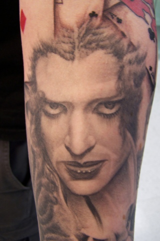 Ron Meyers - Rocky Horror sleeve Magenta