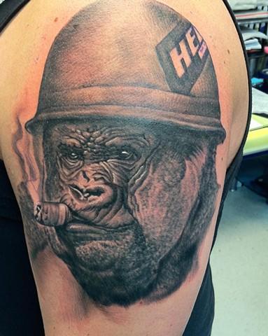 Ron Meyers - Gorilla Tattoo