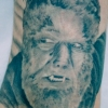 Ron Meyers - Werewolf on Tattoo Artist Corey Cuc