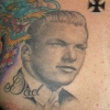 Ron Meyers - memorial tattoo for clients Mom & Dad