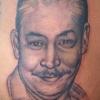 Ron Meyers-Dad Portrait on Hip