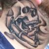 Ron Meyers - richie's neck tattoo