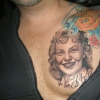 Ron Meyers - Memorial tattoo for clients mom