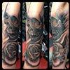 Ron Meyers - Skull & Rose Tattoo