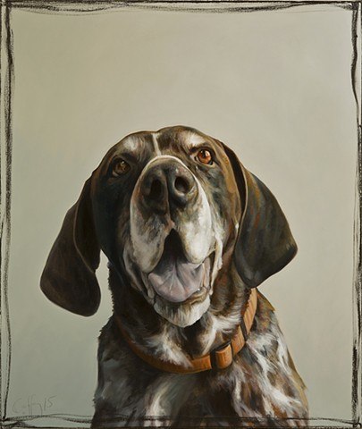 German Pointer  SOLD
