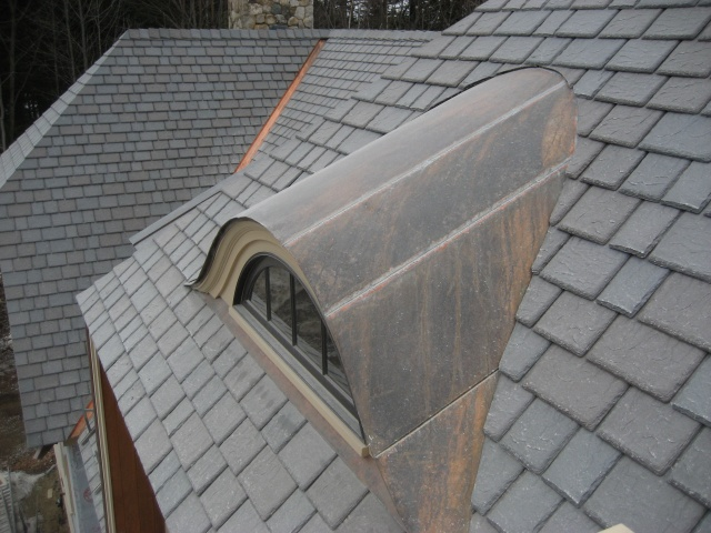 Eyebrow Copper Roof