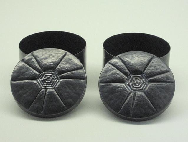 """Pair of 3"""" Kiva Boxes"""