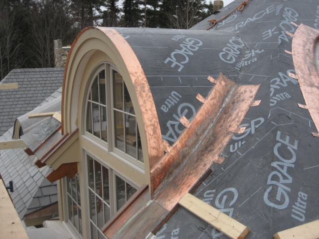 Barrel Roof Construction
