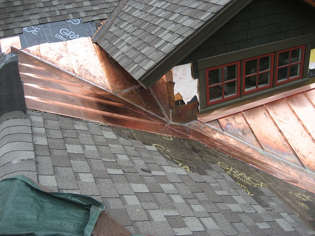 Dormer to Valley Flashing