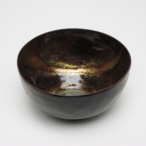 Hammer Textured Round Bowl