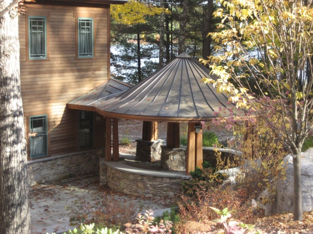Coned roof Moore Project.