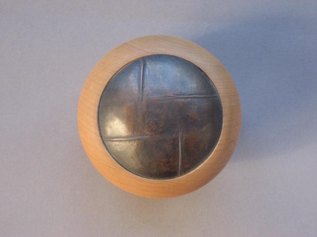 Maple Box Lid Detail